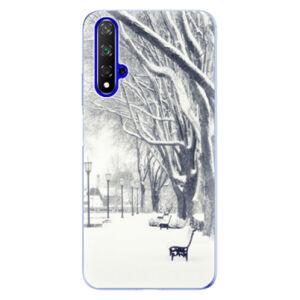 Odolné silikónové puzdro iSaprio - Snow Park - Huawei Honor 20