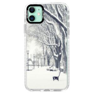 Silikónové puzdro Bumper iSaprio - Snow Park - iPhone 11