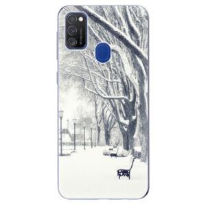 Odolné silikónové puzdro iSaprio - Snow Park - Samsung Galaxy M21