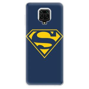 Odolné silikónové puzdro iSaprio - Superman 03 - Xiaomi Redmi Note 9 Pro / Note 9S