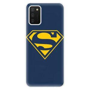 Odolné silikónové puzdro iSaprio - Superman 03 - Samsung Galaxy A02s