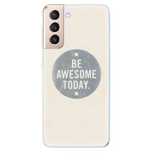 Odolné silikónové puzdro iSaprio - Awesome 02 - Samsung Galaxy S21