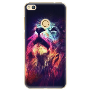 Plastové puzdro iSaprio - Lion in Colors - Huawei Honor 8 Lite