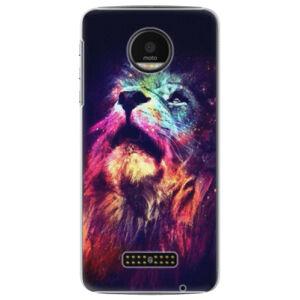 Plastové puzdro iSaprio - Lion in Colors - Lenovo Moto Z