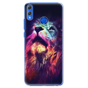 Plastové puzdro iSaprio - Lion in Colors - Huawei Honor 8X