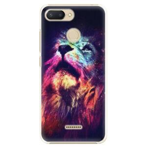 Plastové puzdro iSaprio - Lion in Colors - Xiaomi Redmi 6