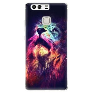Silikónové puzdro iSaprio - Lion in Colors - Huawei P9
