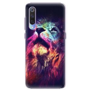 Plastové puzdro iSaprio - Lion in Colors - Xiaomi Mi 9