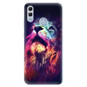 Odolné silikonové pouzdro iSaprio - Lion in Colors - Huawei Honor 10 Lite