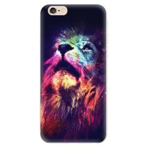 Odolné silikónové puzdro iSaprio - Lion in Colors - iPhone 6/6S