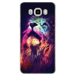 Odolné silikónové puzdro iSaprio - Lion in Colors - Samsung Galaxy J5 2016