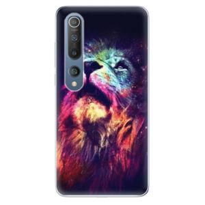 Odolné silikónové puzdro iSaprio - Lion in Colors - Xiaomi Mi 10 / Mi 10 Pro