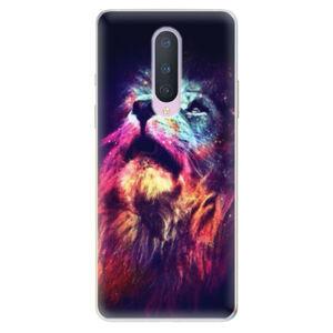 Odolné silikónové puzdro iSaprio - Lion in Colors - OnePlus 8