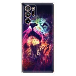 Odolné silikónové puzdro iSaprio - Lion in Colors - Samsung Galaxy Note 20 Ultra