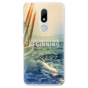 Plastové puzdro iSaprio - Beginning - Lenovo Moto M