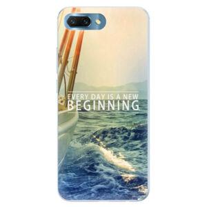Silikónové puzdro iSaprio - Beginning - Huawei Honor 10