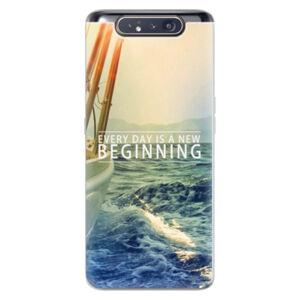 Odolné silikónové puzdro iSaprio - Beginning - Samsung Galaxy A80