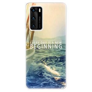 Odolné silikónové puzdro iSaprio - Beginning - Huawei P40