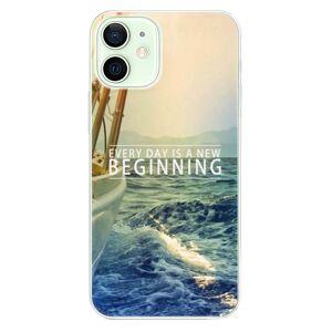 Odolné silikónové puzdro iSaprio - Beginning - iPhone 12 mini