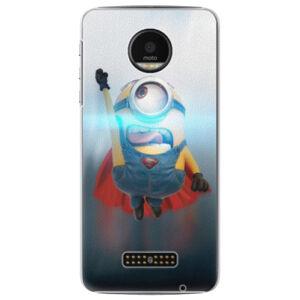 Plastové puzdro iSaprio - Mimons Superman 02 - Lenovo Moto Z