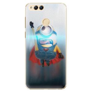 Plastové puzdro iSaprio - Mimons Superman 02 - Huawei Honor 7X