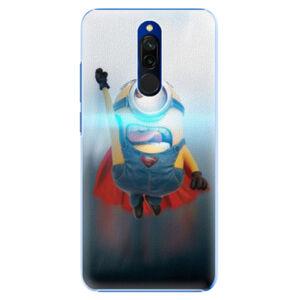 Plastové puzdro iSaprio - Mimons Superman 02 - Xiaomi Redmi 8