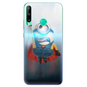 Odolné silikónové puzdro iSaprio - Mimons Superman 02 - Huawei P40 Lite E