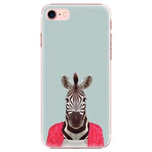 Plastové puzdro iSaprio - Zebra 01 - iPhone 7