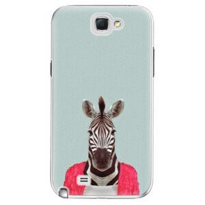 Plastové puzdro iSaprio - Zebra 01 - Samsung Galaxy Note 2