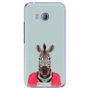 Plastové puzdro iSaprio - Zebra 01 - HTC U11