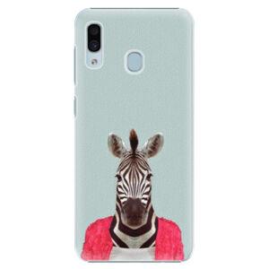 Plastové puzdro iSaprio - Zebra 01 - Samsung Galaxy A30