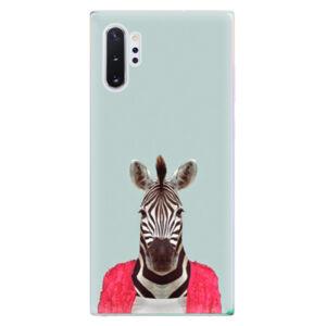 Odolné silikónové puzdro iSaprio - Zebra 01 - Samsung Galaxy Note 10+