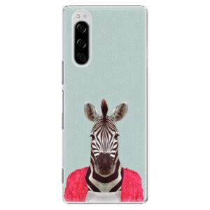 Plastové puzdro iSaprio - Zebra 01 - Sony Xperia 5
