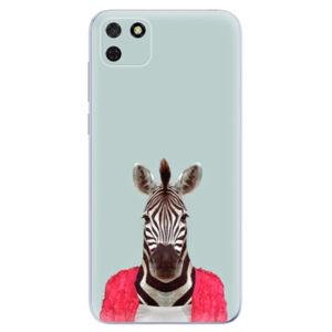 Odolné silikónové puzdro iSaprio - Zebra 01 - Huawei Y5p