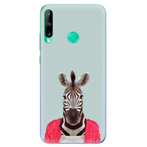 Odolné silikónové puzdro iSaprio - Zebra 01 - Huawei P40 Lite E