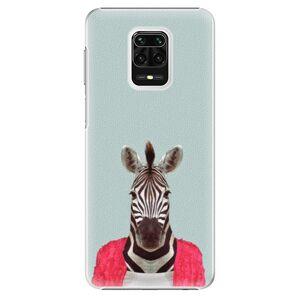 Plastové puzdro iSaprio - Zebra 01 - Xiaomi Redmi Note 9 Pro / Note 9S