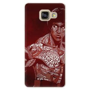 Silikónové puzdro iSaprio - Bruce Lee - Samsung Galaxy A5 2016