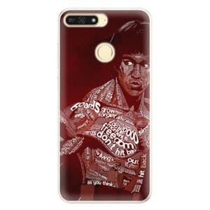 Silikónové puzdro iSaprio - Bruce Lee - Huawei Honor 7A