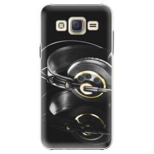 Plastové puzdro iSaprio - Headphones 02 - Samsung Galaxy Core Prime