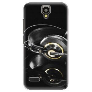 Plastové puzdro iSaprio - Headphones 02 - Huawei Ascend Y5