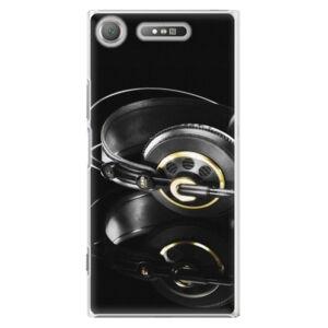 Plastové puzdro iSaprio - Headphones 02 - Sony Xperia XZ1
