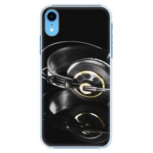 Plastové puzdro iSaprio - Headphones 02 - iPhone XR