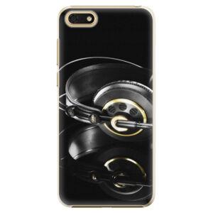 Plastové puzdro iSaprio - Headphones 02 - Huawei Honor 7S