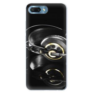 Silikónové puzdro iSaprio - Headphones 02 - Huawei Honor 10