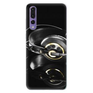 Silikónové puzdro iSaprio - Headphones 02 - Huawei P20 Pro