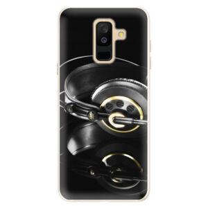 Silikónové puzdro iSaprio - Headphones 02 - Samsung Galaxy A6+