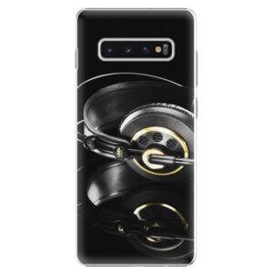 Plastové puzdro iSaprio - Headphones 02 - Samsung Galaxy S10+