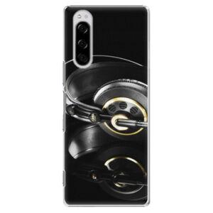 Plastové puzdro iSaprio - Headphones 02 - Sony Xperia 5