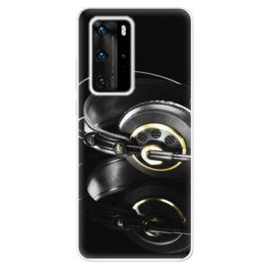 Odolné silikónové puzdro iSaprio - Headphones 02 - Huawei P40 Pro