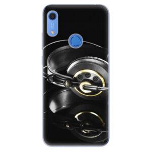 Odolné silikónové puzdro iSaprio - Headphones 02 - Huawei Y6s